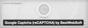 استفاده از CAPTCHA در وردپرس