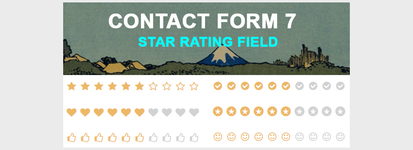 افزونه امتیاز دهی وردپرس contact form 7