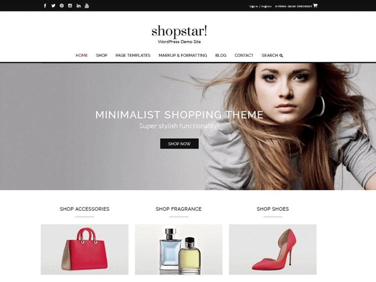 Shopstar قالب فارسی وردپرس