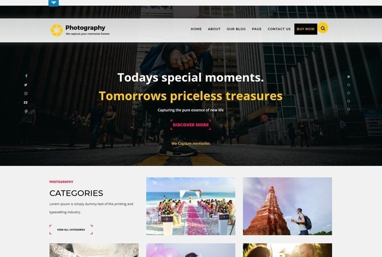 TS Photography قالب وردپرس