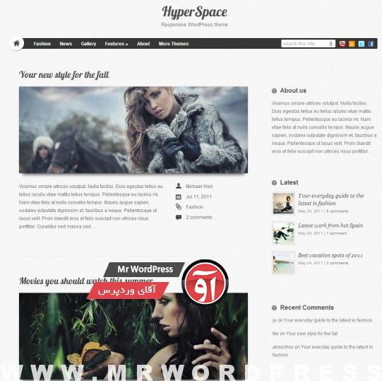 HyperSpace-Responsive-WordPress-theme