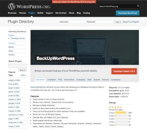 برترین افزونه های برای Backupگرفتن از وردپرس + دانلود