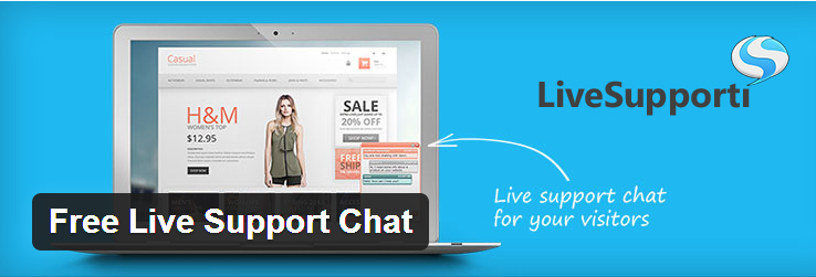 Read more about the article پشتیبانی آنلاین تیکت بر پایه پلاگین Free Live Support Chat