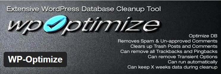 You are currently viewing افزونه بهینه ساز دیتابیس وردپرس WP Optimize