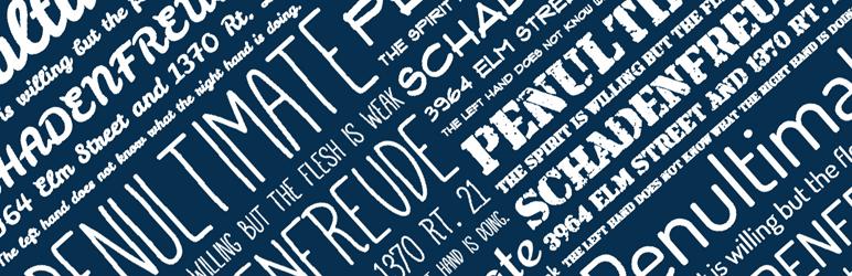 افزودن فونت دلخواه به قالب وردپرس با افزونه وردپرس Use any fonts
