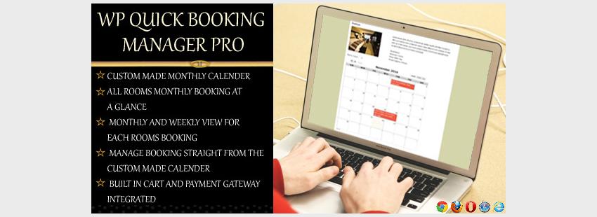 افزونه نوبت دهی وردپرس WP Quick Booking Manager Pro