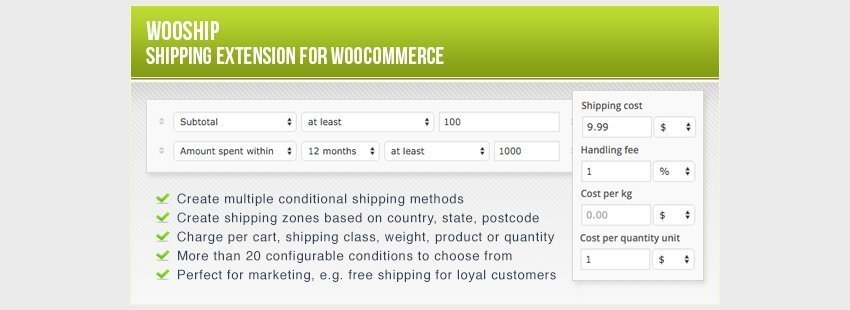 افزونه ووکامرس WooShip - WooCommerce Shipping Plugin