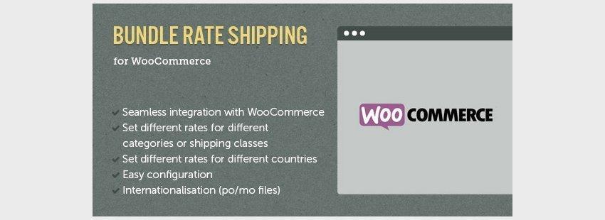 افزونه حمل و نقل برای گروه های محصولات ووکامرسWooCommerce E-Commerce Bundle Rate Shipping