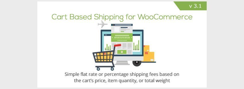 WooCommerce Cart Based Shipping افزونه ووکامرس حمل و نقل بر اساس کارت خرید