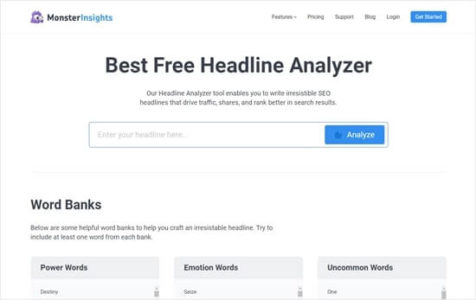 افزونه Headline Analyzer